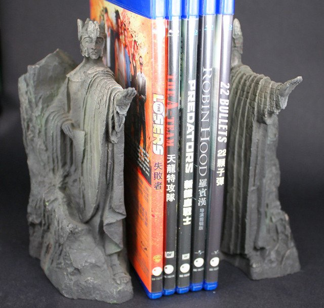 Third Gate of Gondor Bookends - Fans Gift