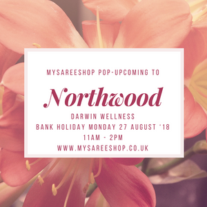 NORTHWOOD POP-UP SHOP - BANK HOLIDAY MONDAY 27TH AUGUST