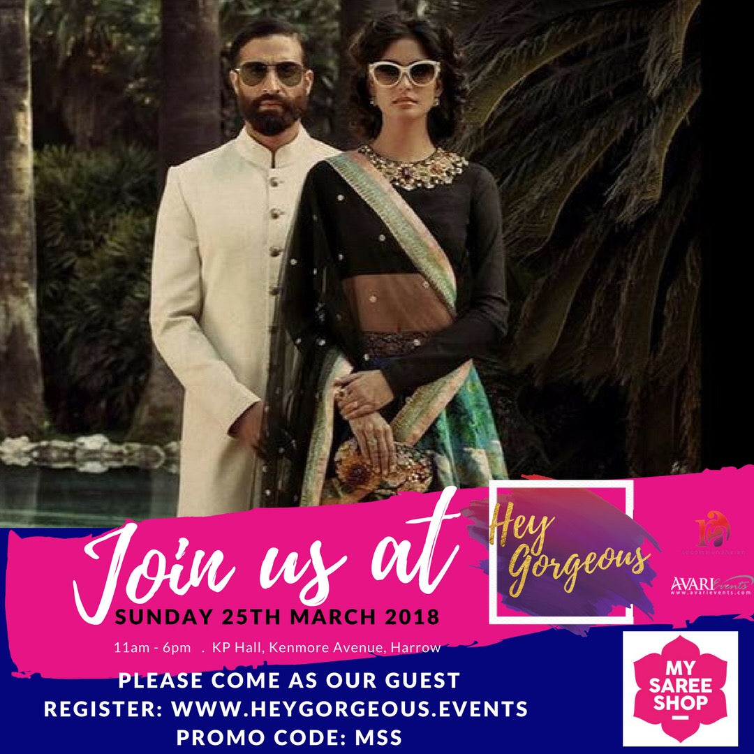 MySareeShop @ 2018 HeyGorgeous Event