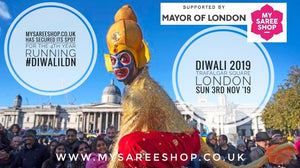 Celebrate Diwali with MySareeShop on Trafalgar Square