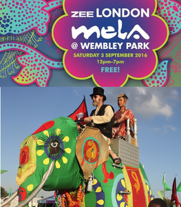 LONDON Mela 2016 - Wembley Park