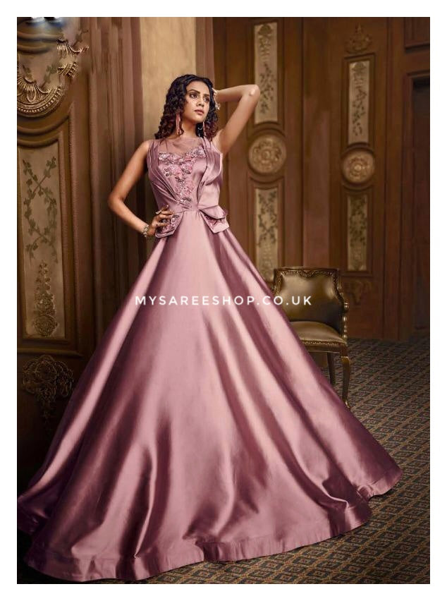 4440 - Premium Gown (Fully Stitched)