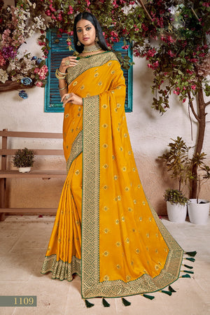 1040 - Mulberry Soft Saree