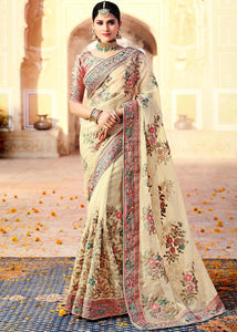250 - Luxury Organza Silk Saree