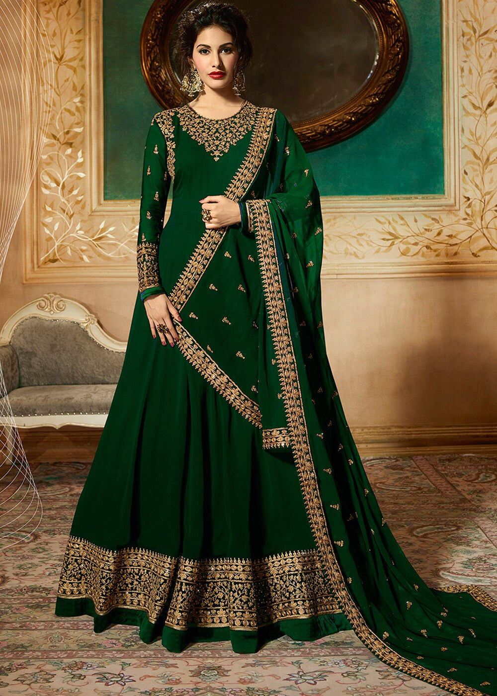499 - Anarkali (Available in 2 Colours)
