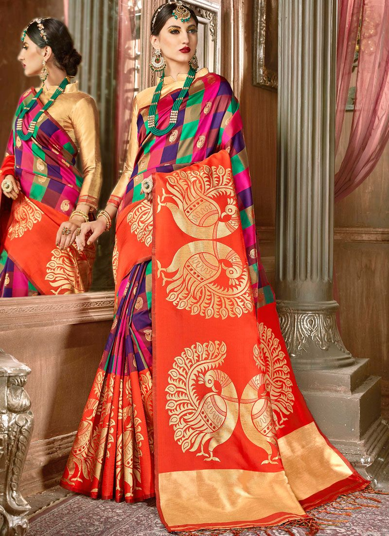 1488 - Art Silk Saree