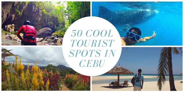 50 Cool Tourist Spots to Visit in Cebu