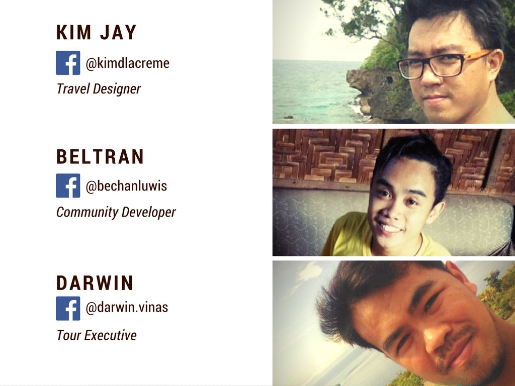 Tour Sidekicks of Cebu team members