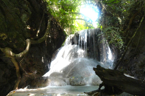 Aguinid Falls philippines vacation packages