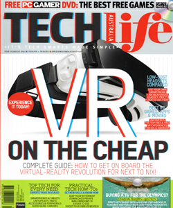 VR-X Headset featured in Techlife