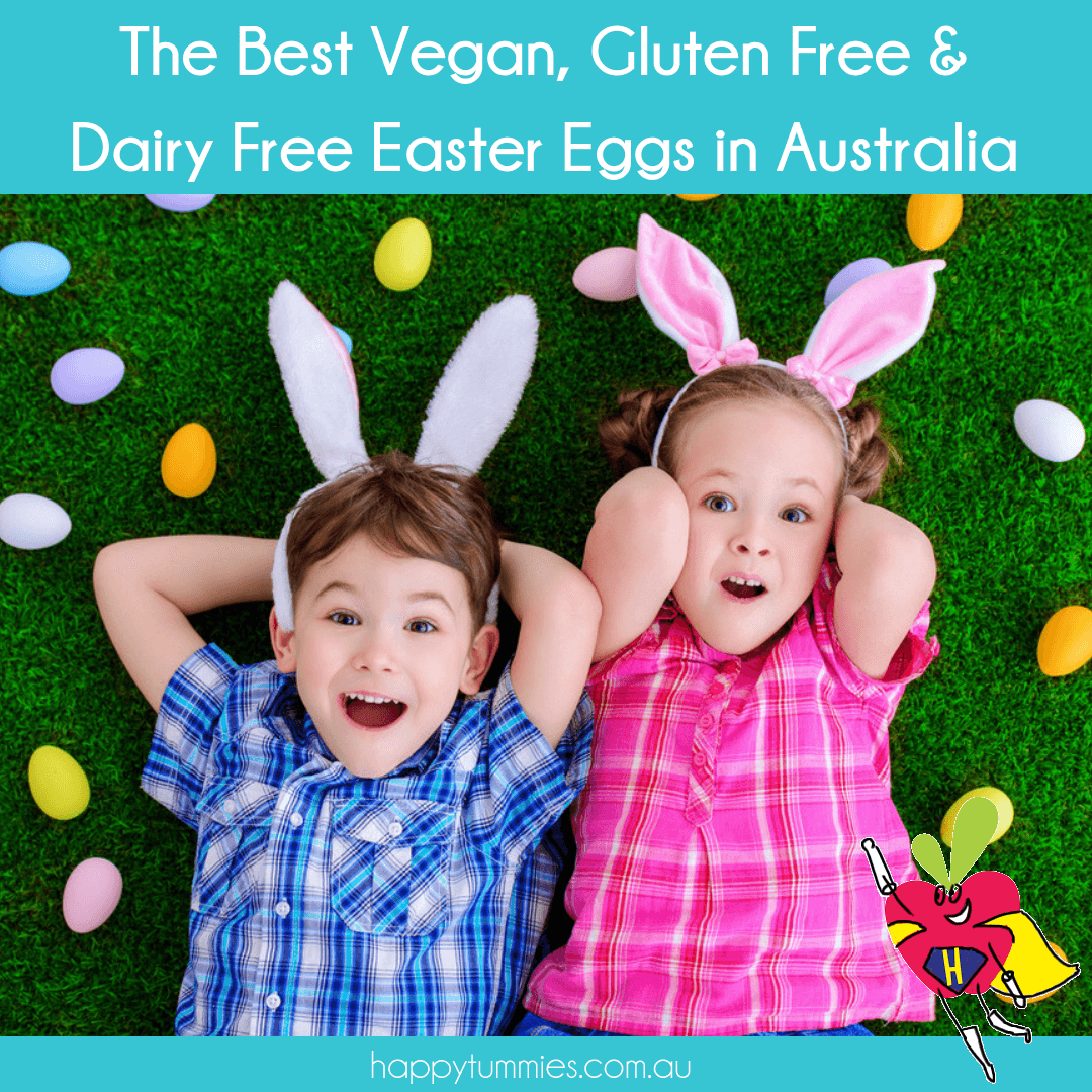 The Best Vegan, Gluten Free & Dairy Free Easter Eggs in Australia - Happy Tummies