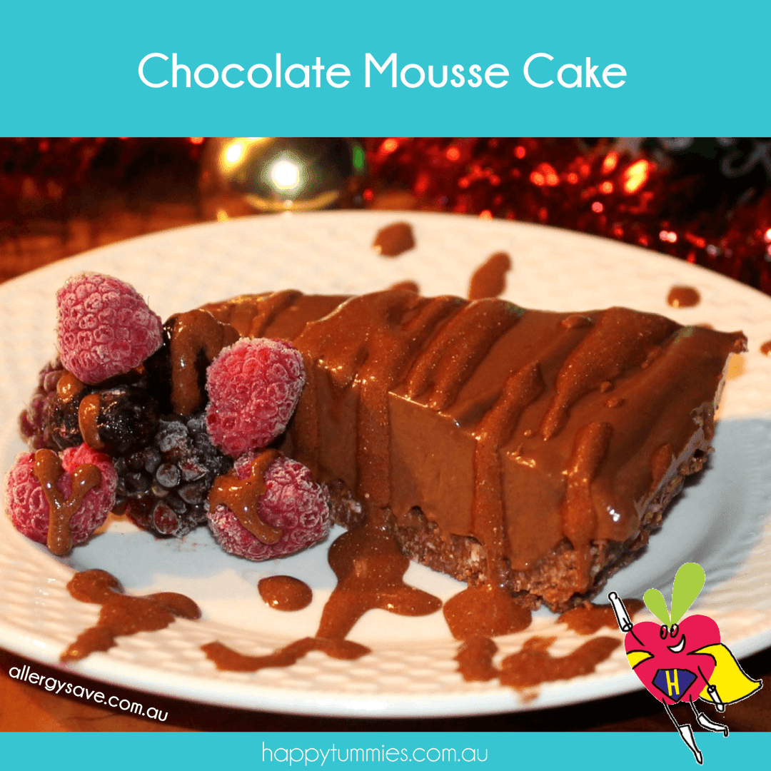 Chocolate Mousse Cake - Allergysave - Happy Tummies