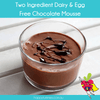 Dairy & Egg Free Chocolate Mousse - Happy Tummies