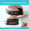 Chocolate Coconut Cream Vegan Icing - Happy Tummies