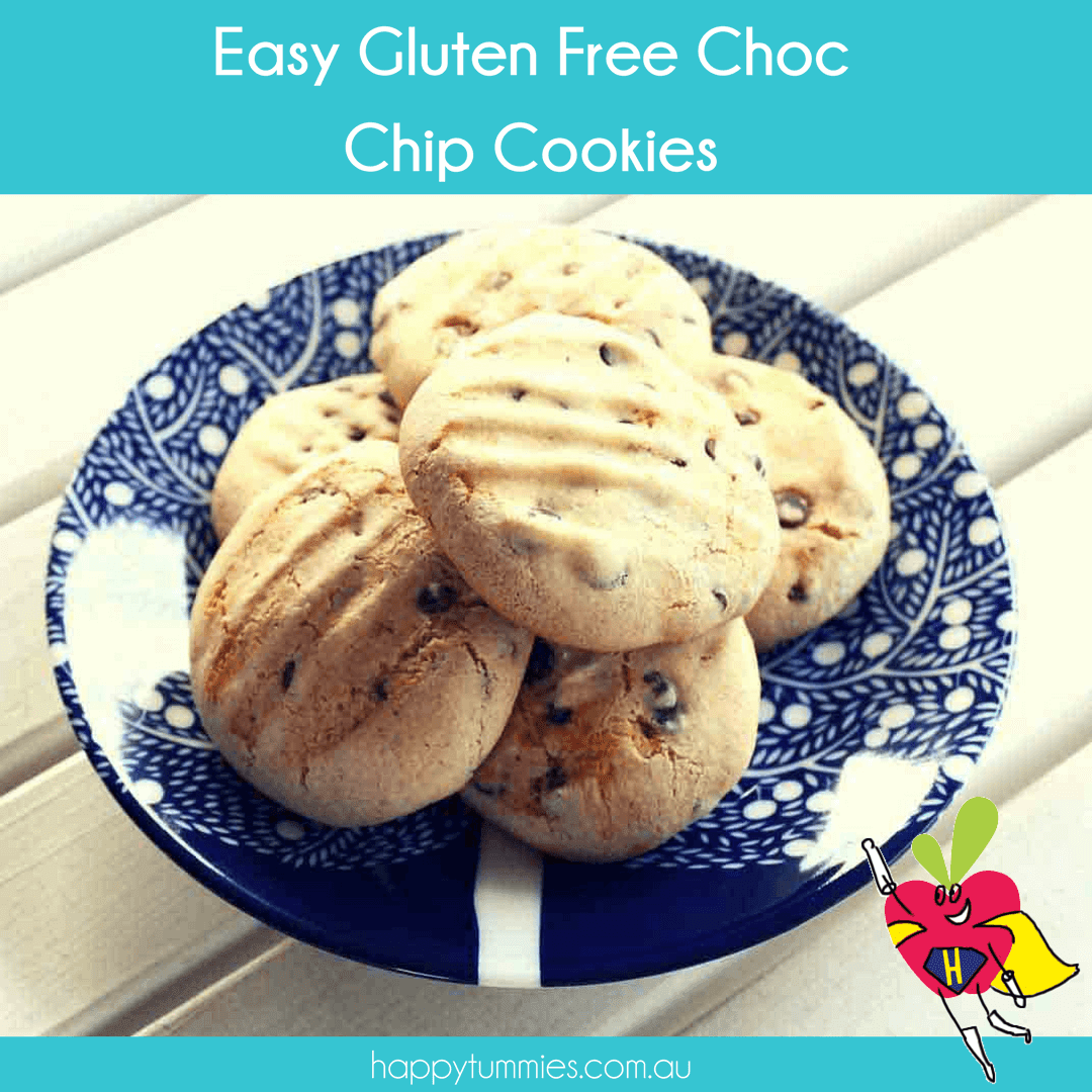 Easy Gluten Free Chocolate Chip Cookies Recipe - Happy Tummies