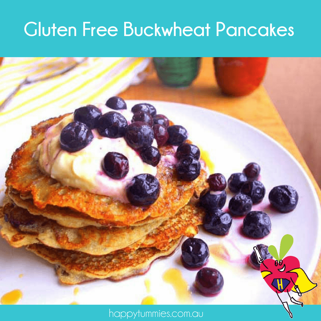 Gluten Free Buckwheat Pancakes - Energetic Mama - Happy Tummies