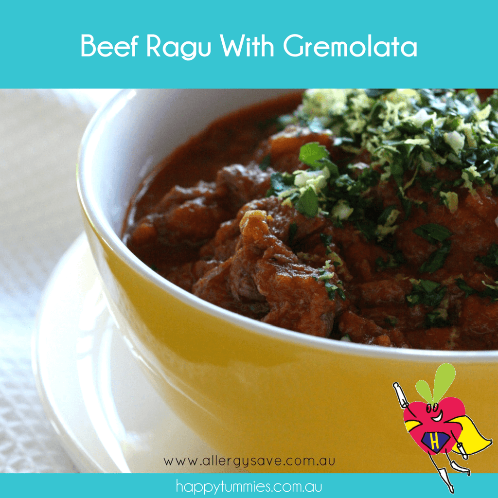Beef Ragu With Gremolata