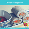 Gluten Free Chicken Sausage Rolls - Happy Tummies