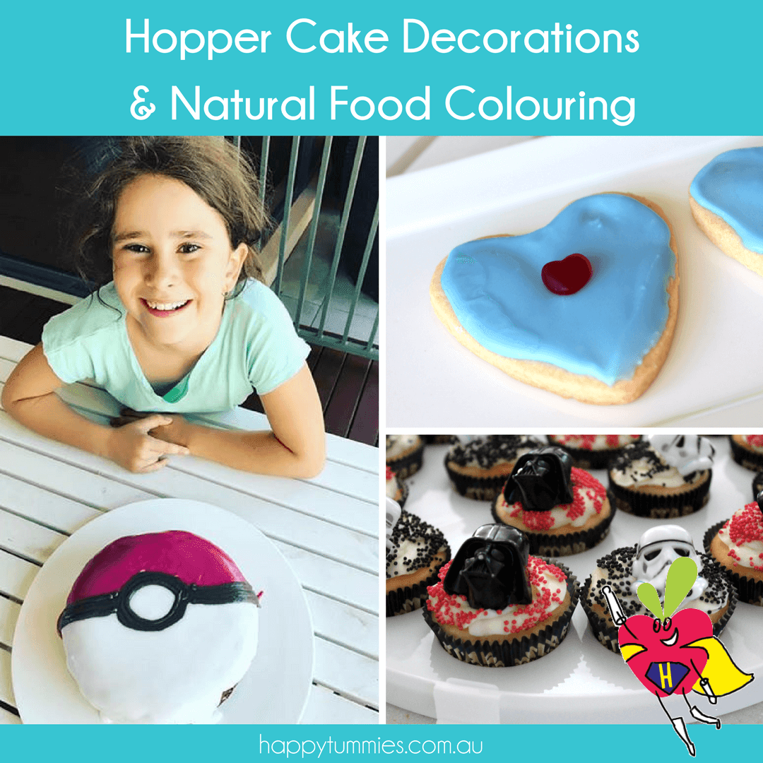 Hopper Cake Decorations & Natural Food Colouring - Happy Tummies
