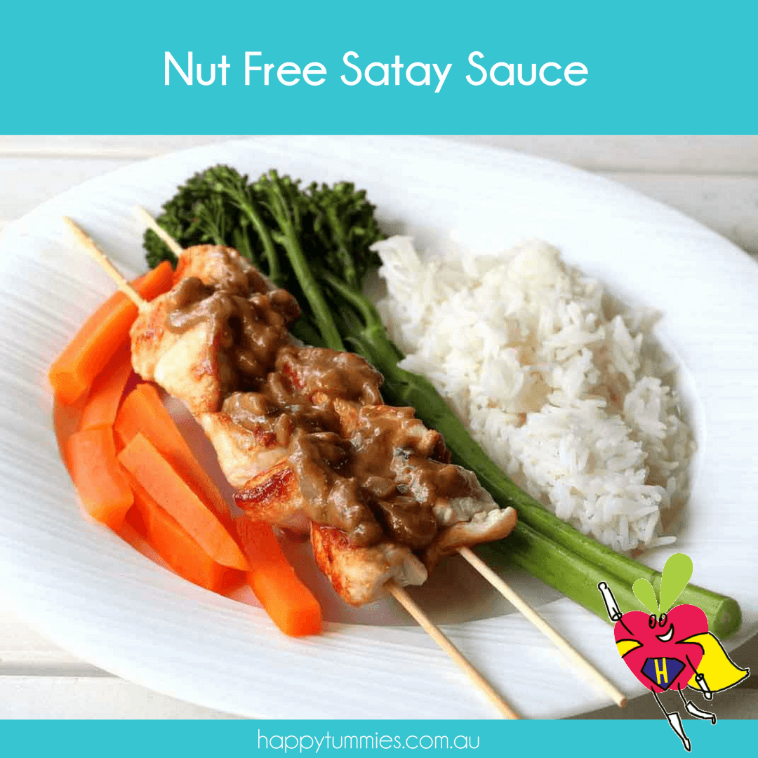 Nut Free Satay Sauce Recipe - Happy Tummies