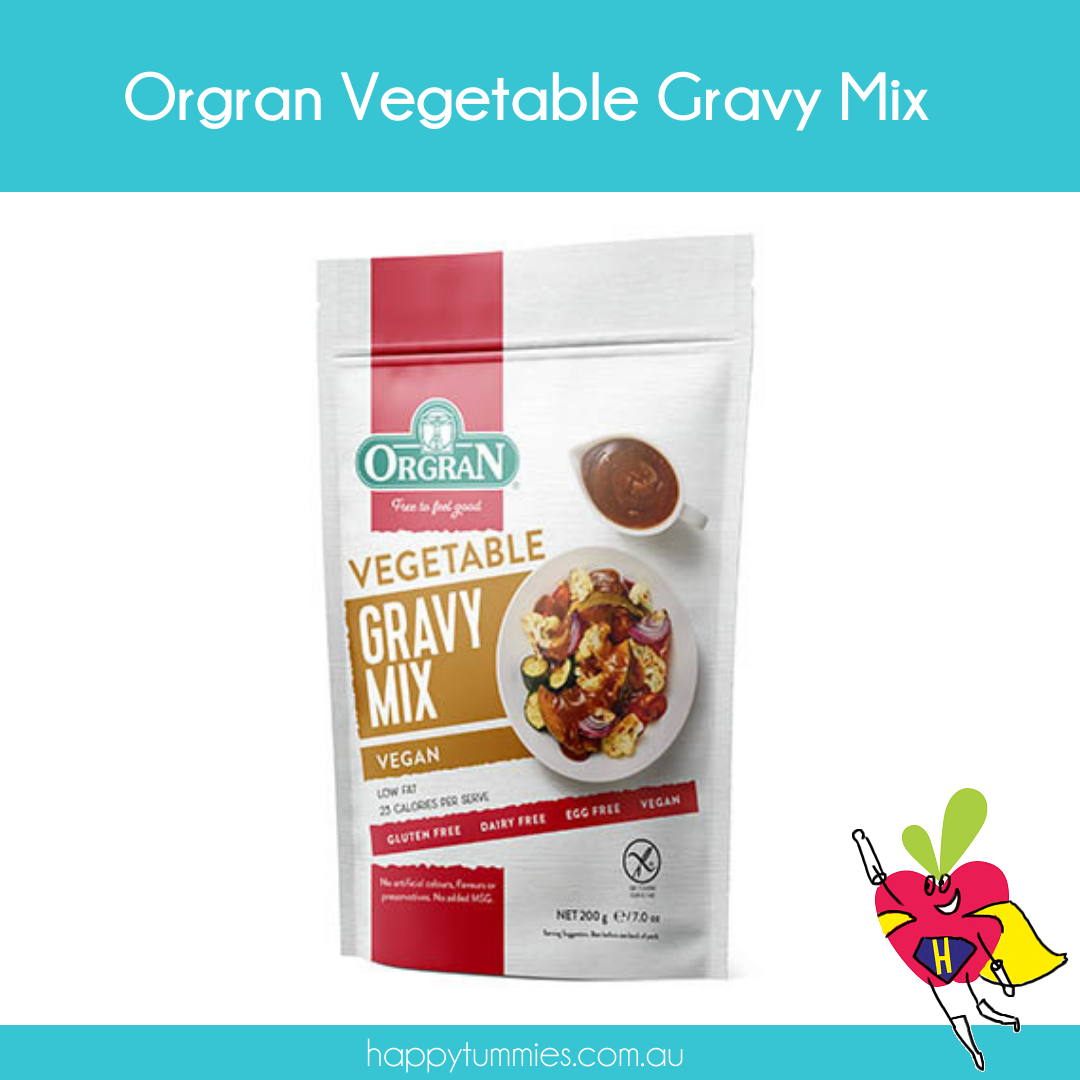 Orgran Vegetable Gravy Mix - Happy Tummies