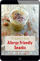 Allergy Friendly Snacks - Allergysave - Happy Tummies