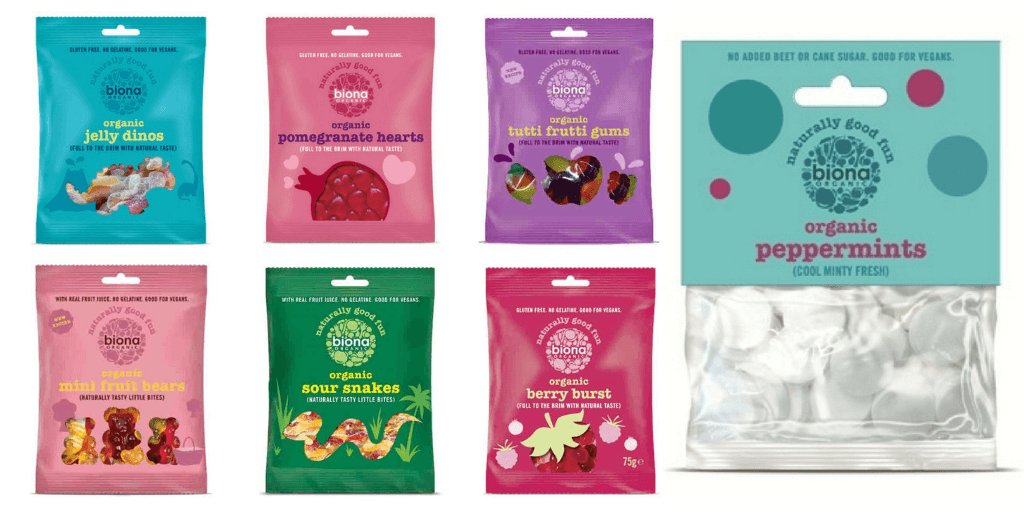 Biona Gluten Free Lollies - Happy Tummies
