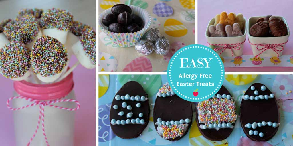 Easy Dairy Free Chocolate Easter Treats To Make - Happy Tummies