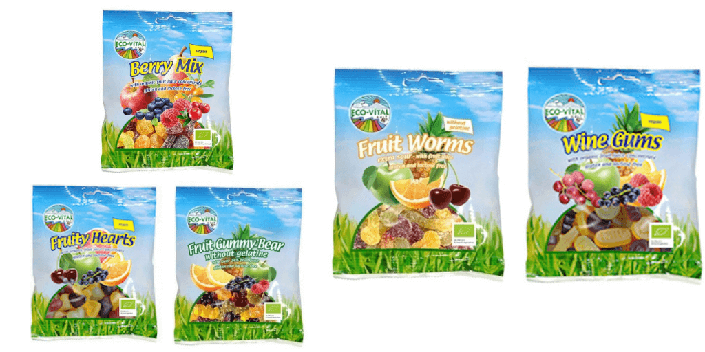 Eco-Vital Gluten Free Lollies - Happy Tummies