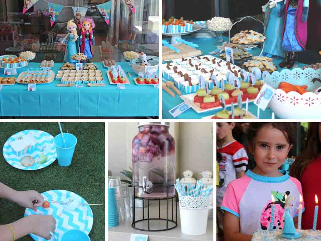 Frozen Birthday Party Food Ideas - Happy Tummies
