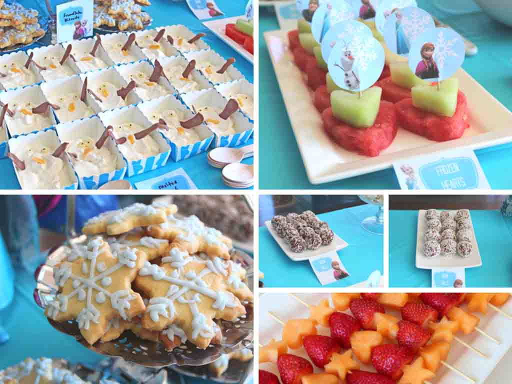 Disney Frozen Birthday Party Food Ideas - Happy Tummies