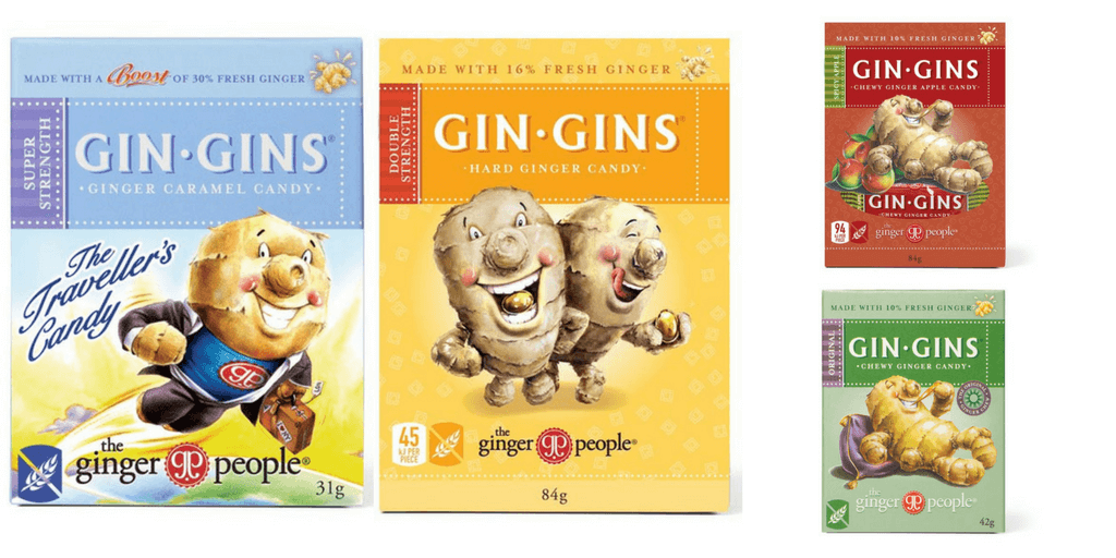 Gin Gins Gluten Free Lollies - Happy Tummies