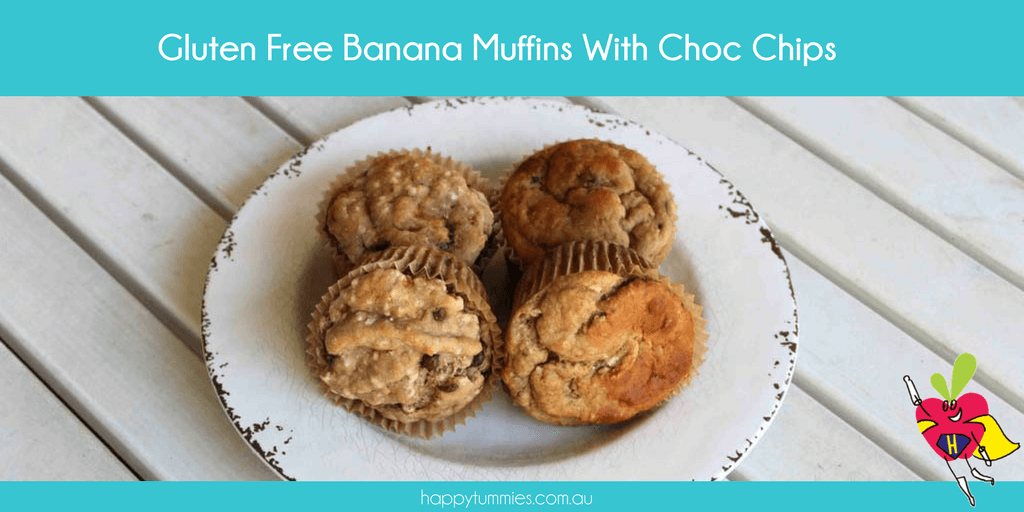 Gluten Free Banana Muffins - Happy Tummies