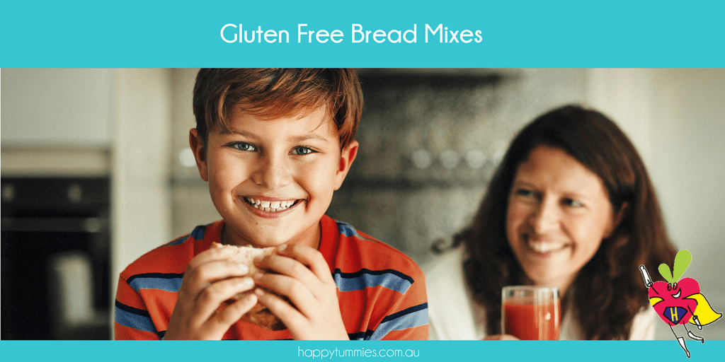 Gluten Free Bread Mixes - Happy Tummies