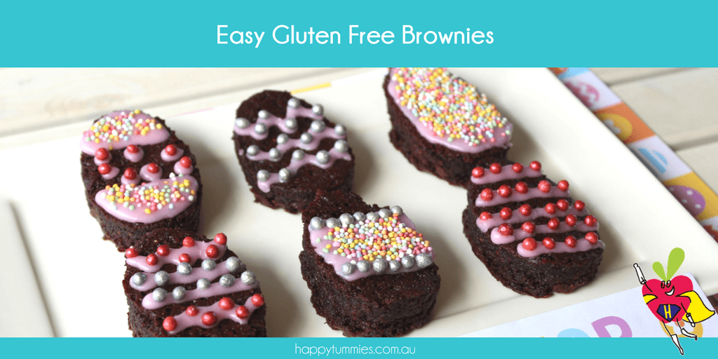 Gluten Free Brownies - Happy Tummies