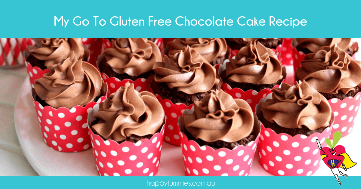 Gluten Free Chocolate Cake Recipe - Happy Tummies