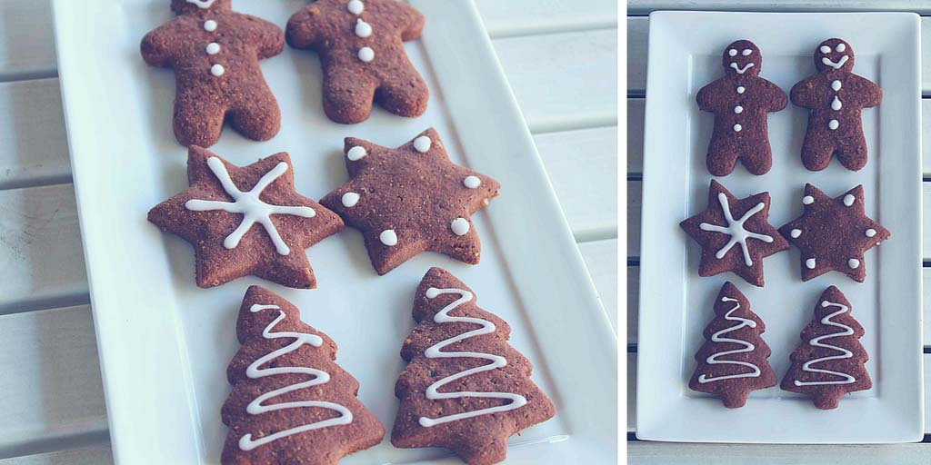 Gluten Free Chocolate Gingerbread Cookies - Happy Tummies