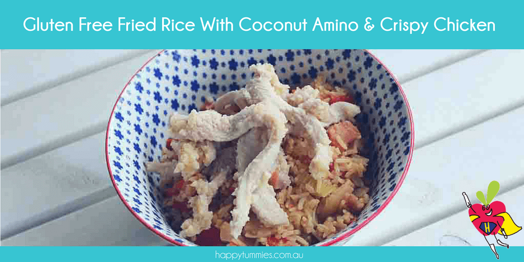 Gluten Free Fried Rice Recipe With Coconut Amino - Happy Tummies