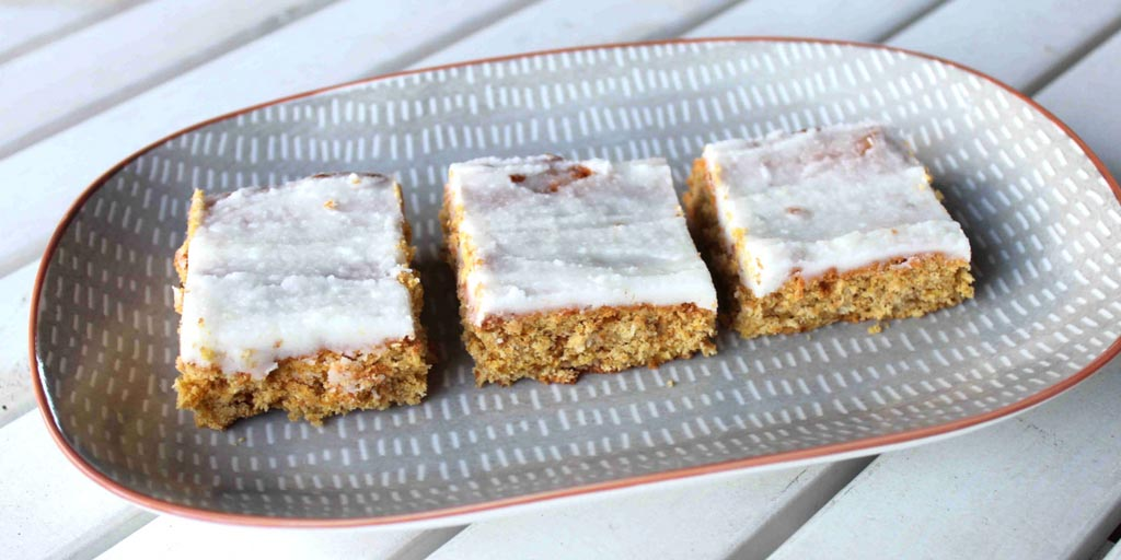 Gluten Free Ginger And Carrot Slice Recipe - Happy Tummies