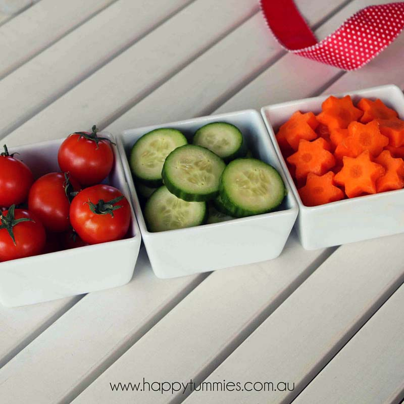 Healthy Christmas Food - Christmas Vegetables - Happy Tummies
