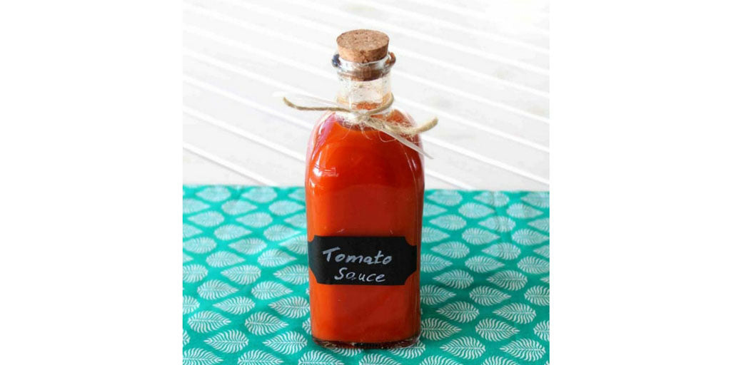 Home Made Tomato Sauce Recipe - Happy Tummies