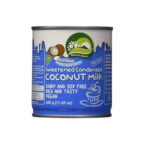 Nature's Charm Sweetened Condensed Coconut Milk - Happy Tummies