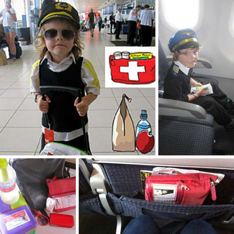 How To Be Prepared For Plane Travel With Kids - My Food Allergy Friends - Happy Tummies