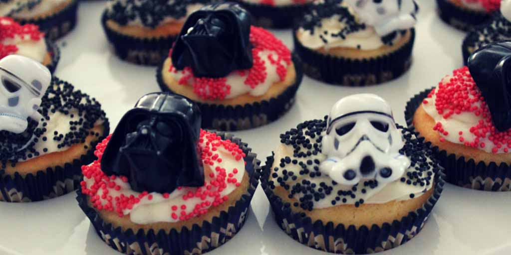 Star Wars Gluten Free Cupcakes - Happy Tummies