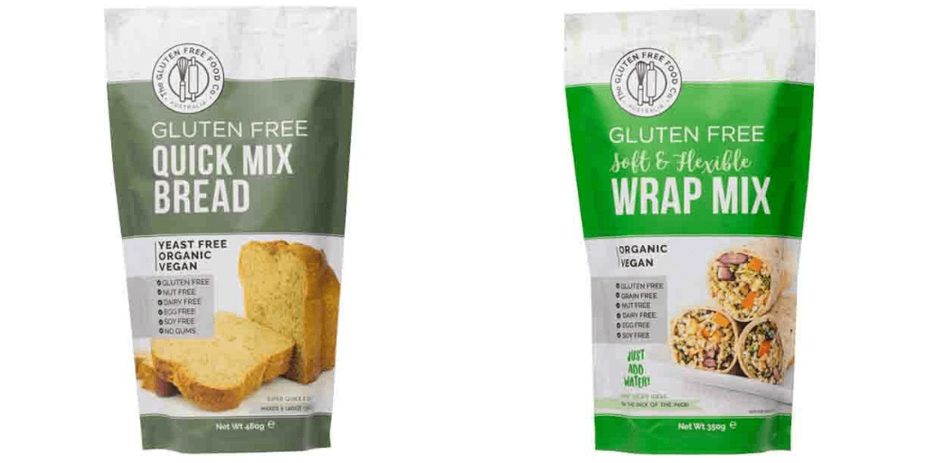 The Gluten Free Food Co Gluten Free Bread Mix - Happy Tummies