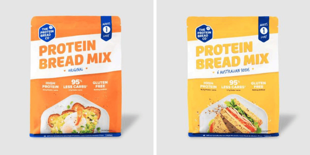 The Protein Bread Co Gluten Free Bread Mix - Happy Tummies