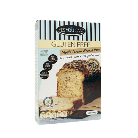 Yes You Can Multigrain Gluten Free Bread Mix - Happy Tummies
