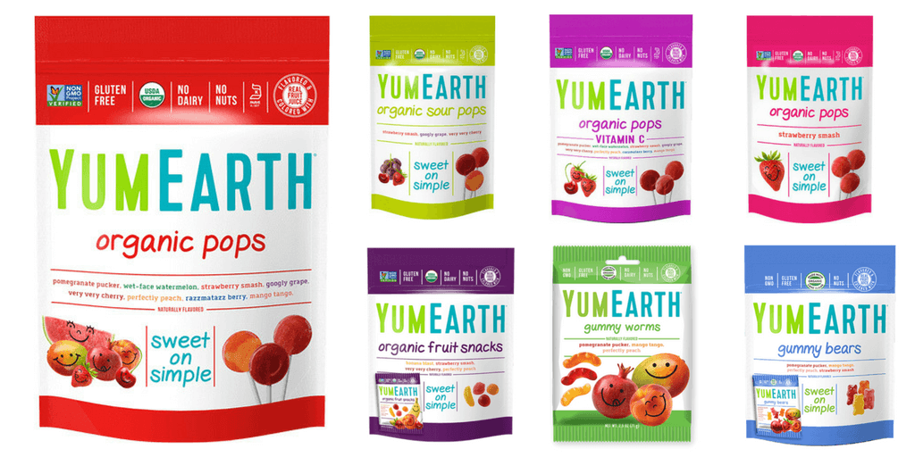 Yum Earth Gluten Free Lollipops - Happy Tummies