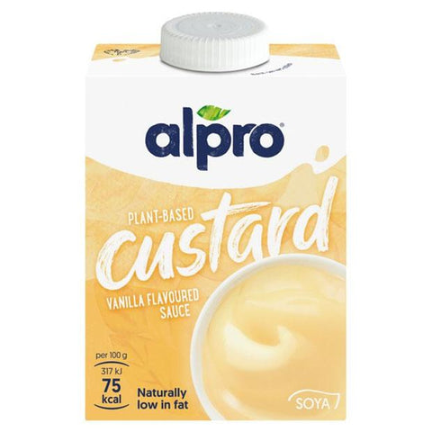 Alpro Soya Dairy-Free Custard 500mls - Happy Tummies