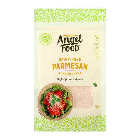 Angel Food Dairy Free Parmesan Alternative 100g - Happy Tummies
